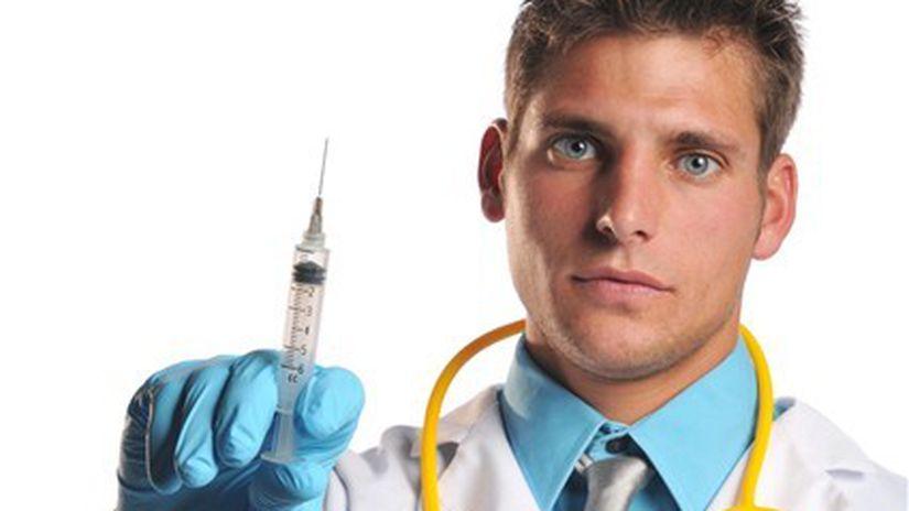 striekačka, injekcia, očkovanie