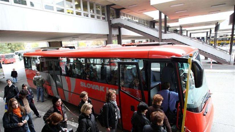 autobus, MHD, stanica, zastávka