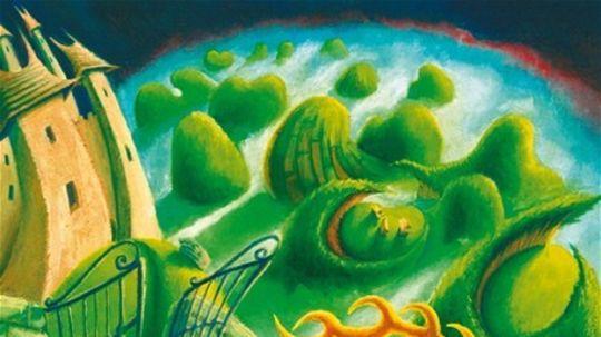 Zlatoparohý jeleň, ilustrácia z knihy: Moje najmilšie rozprávky, Perfekt