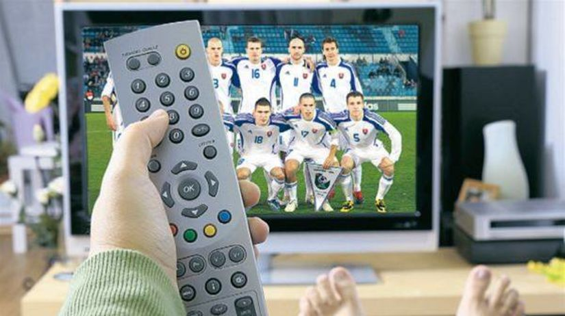 futbal, televízia, televízor, obrazovka