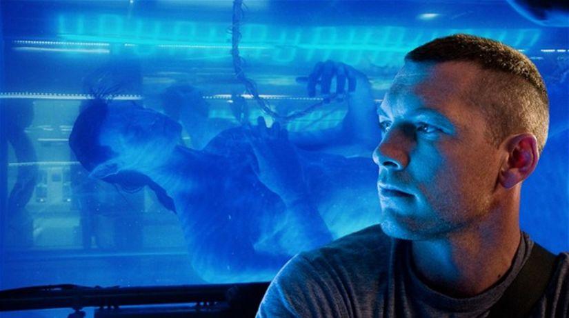 Záber z filmu Avatar.