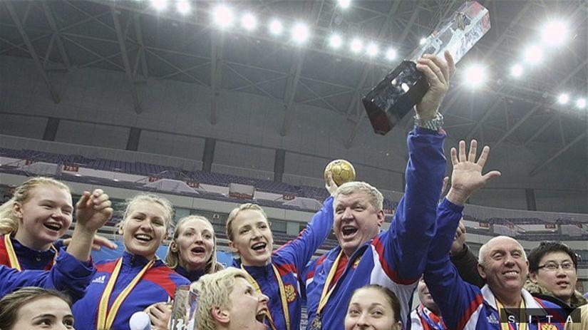 hádzaná Rusko MS výhra