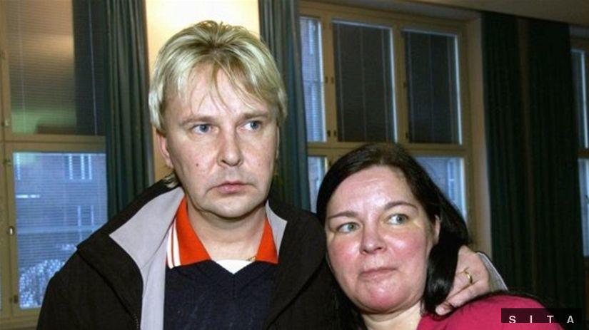 Matti Nykänen s manželkou