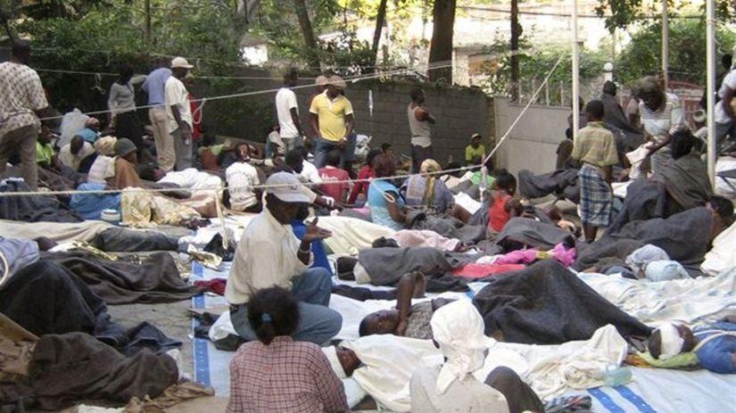zemetrasenie na Haiti