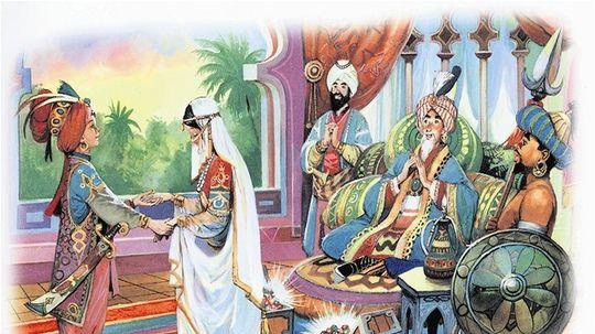Aladinova čarovná lampa