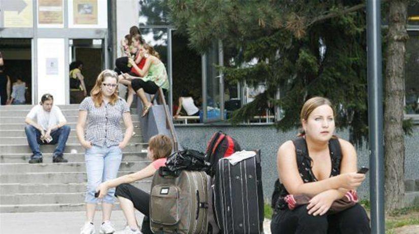 študenti, ubytovanie, internát