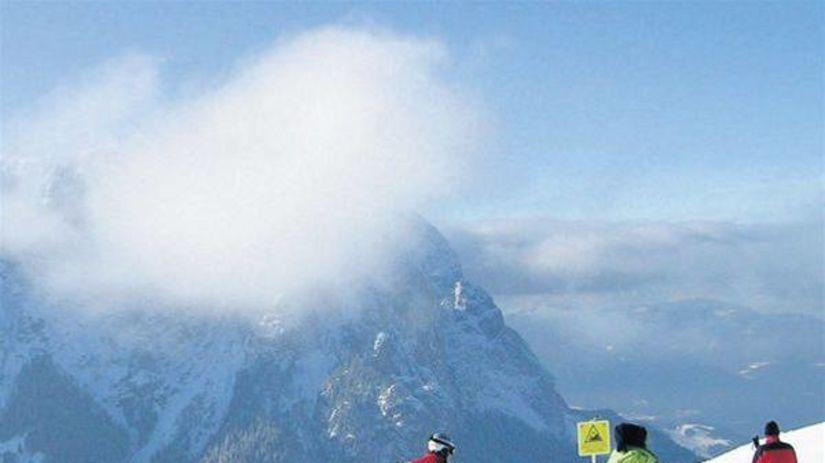 Dolomity, lyžovačka
