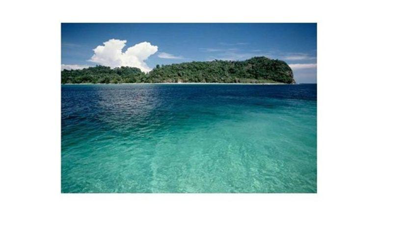 Andamanské ostrovy, more, laguna, India,...