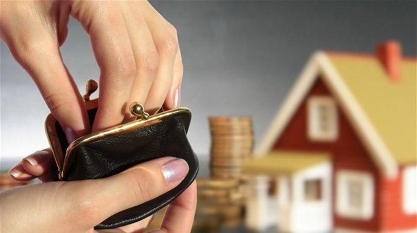 hypotéka, peňaženka, bývanie, úver, peniaze
