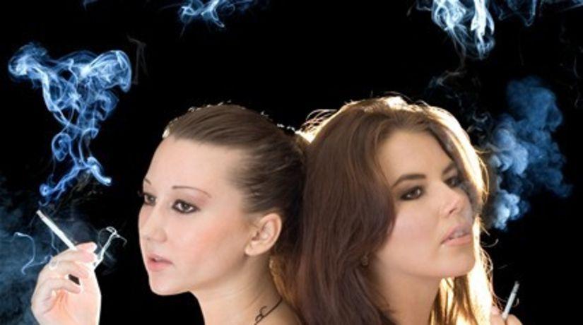 cigareta, fajčenie, dym, fajčiarka,