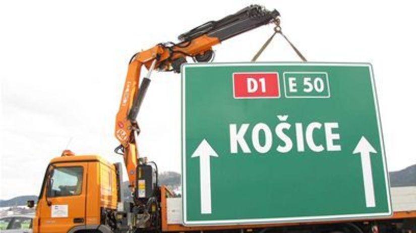 Diaľnica, Košice, stavba