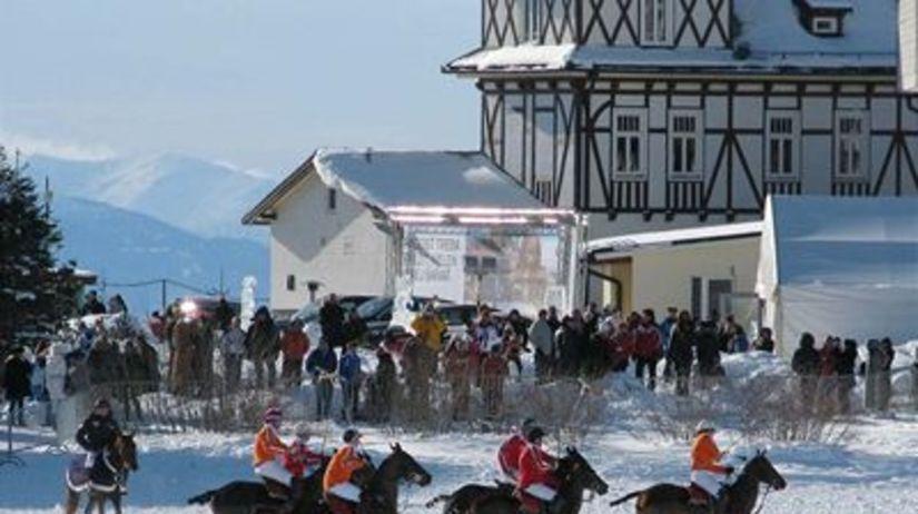 Konské pólo v Tatrách