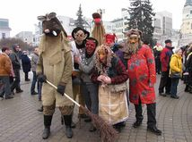 karneval, fašiangy, Žilina