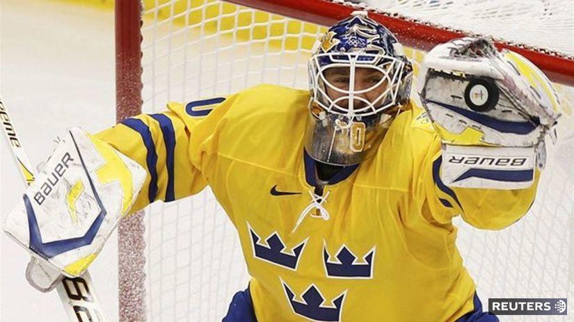 Švédsko, hokej, Lundqvist