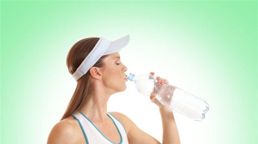 zdravý životný štýl - šport - pitný režim