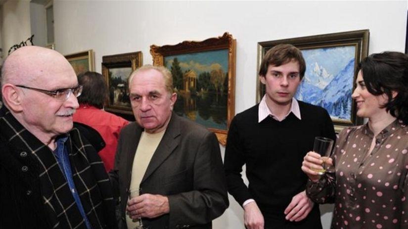 Juraj Mojžiš (vľavo)