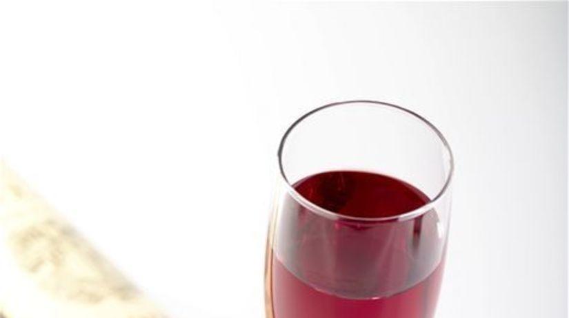 víno, fľaša, pohár
