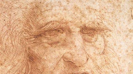 Leonardo da Vinci - autoportrét