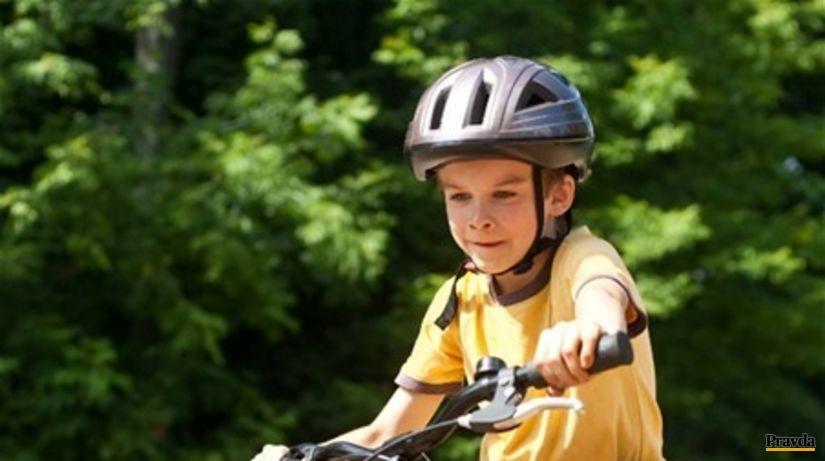 dieťa, šport, cyklistika, prilba, pohyb, úraz,...