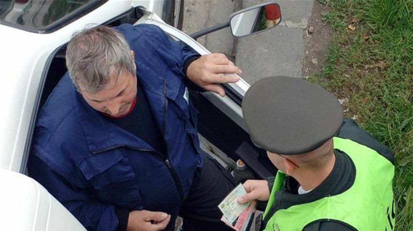 policajti, kontrola, vodičský