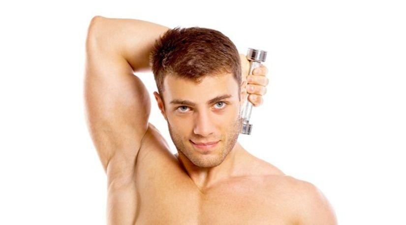 muž, fitness, posilňovňa, činka, sval,...