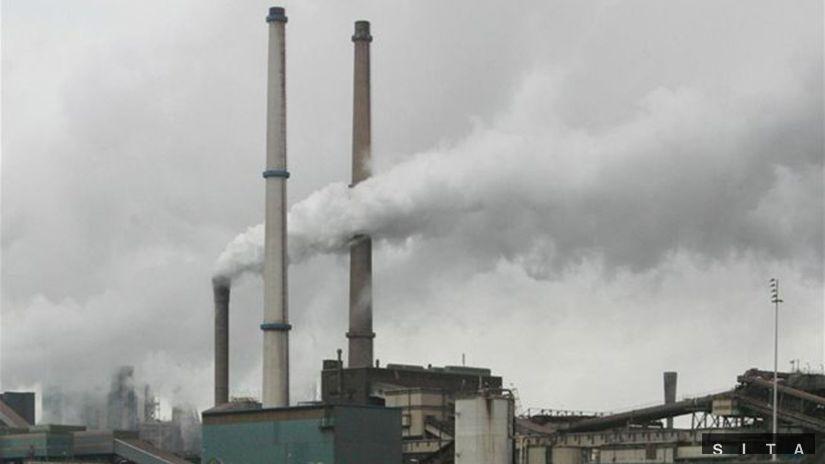 komín, emisie