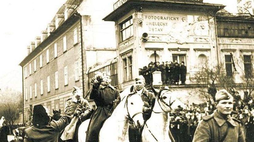 oslobodenie Bratislavy červenoarmejcami