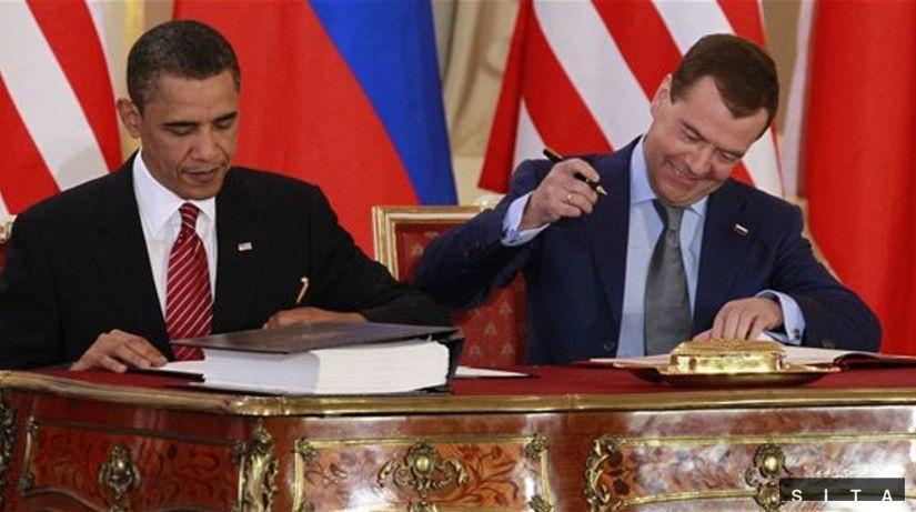Obama, Medvedev, START