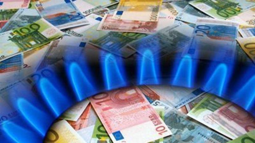 Plyn, kúrenie, euro