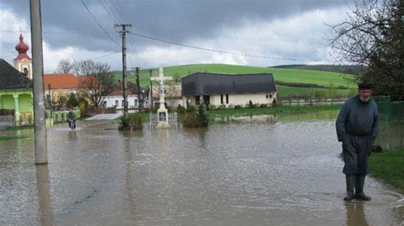 povodeň, Gemerská Ves
