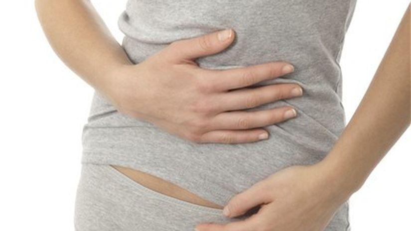 brucho - žalúdok - bolesť - kŕč - slepé črevo
