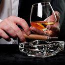 cigara, cigareta, drinh, fajčenie, alkohol, koňak, whisky, popolník