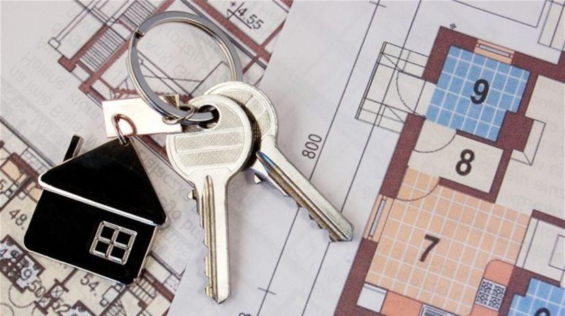 kľúče, dom, bývanie, reality, stavba, výstavba