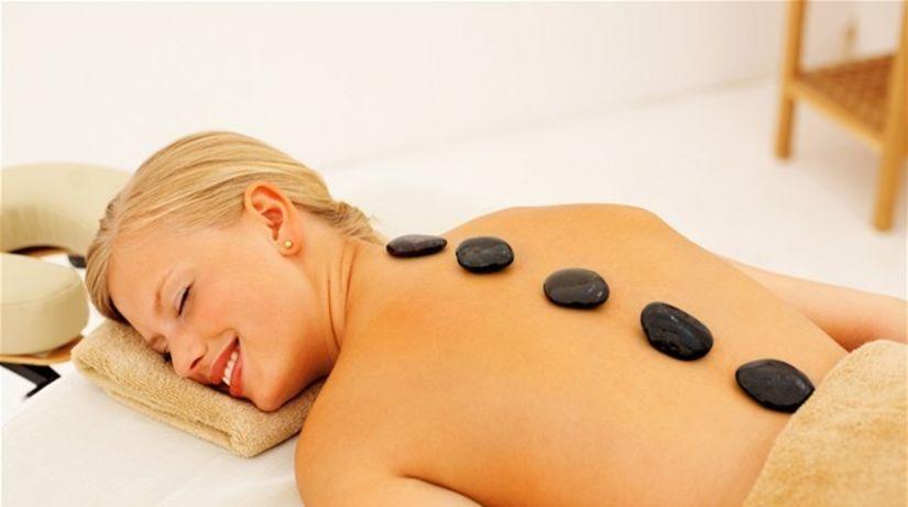 spa, wellnes, kúpele, masáž, lávové kamene