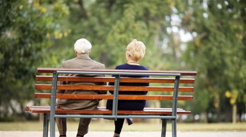 dôchodca, dôchodok, lavička, oddych, staroba