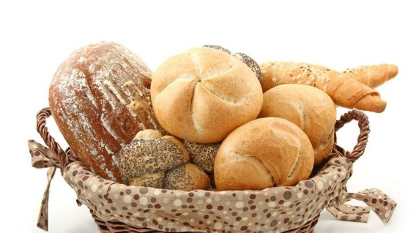 chlieb - pečivo - rožok - košík - sacharidy -...