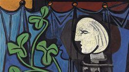 Pablo Picasso. Nahá v sochárskom ateliéri