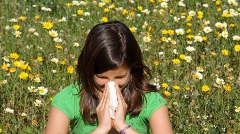 kvety, lúka, alergia, nádcha, senná, leto, nos,...