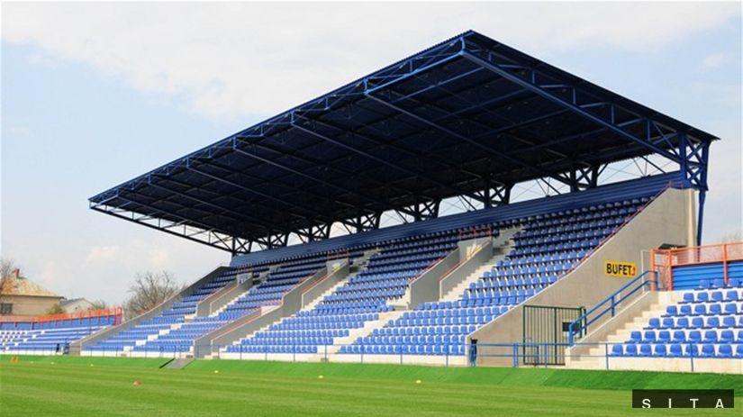 futbal Michalovce štadión