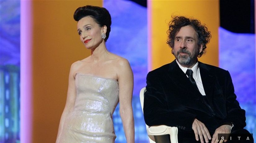 Kristin Scott Thomas a Tim Burton