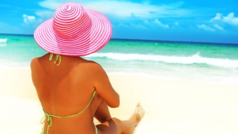 leto, dovolenka, opaľovanie, klobúk, slnko,...