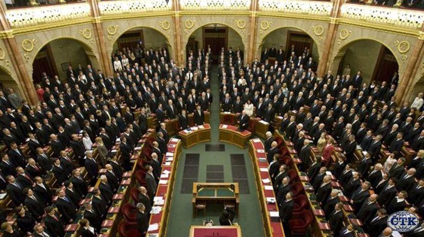 Maďarsko, parlament, Budapešť