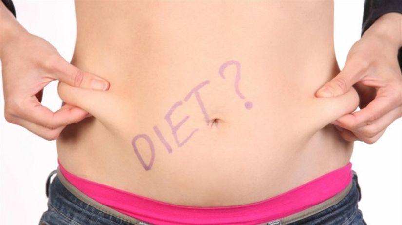 jedlo, chudnutie, diéta, brucho, strava