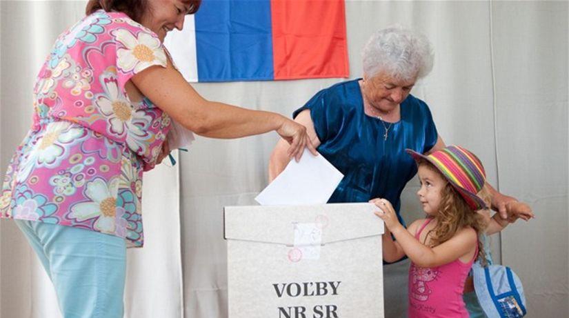 voľby, voliči, urna