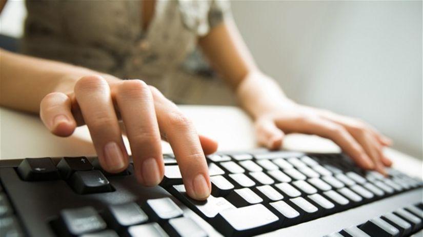 počítač, ruky, bankovníctvo, hacker,...