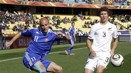 futbal Nový Zéland Slovensko 16