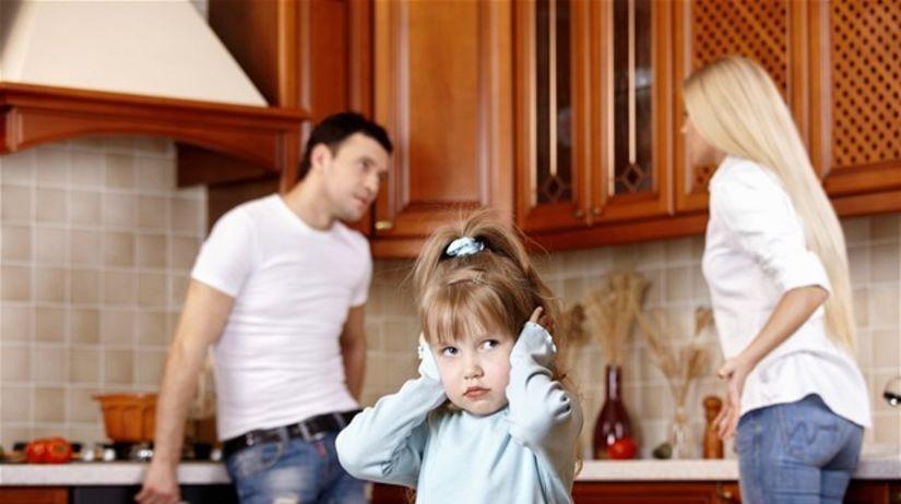 rozvod, dieťa, hádka, rodina, výživné, domácnosť