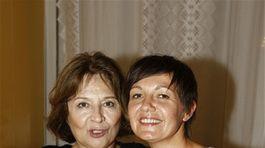 Emília Vášáryová (vľavo) a Natália Tomeková