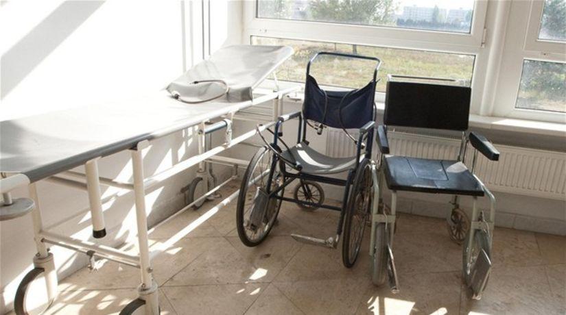 nemocnica, zdravie, pacient, vozík