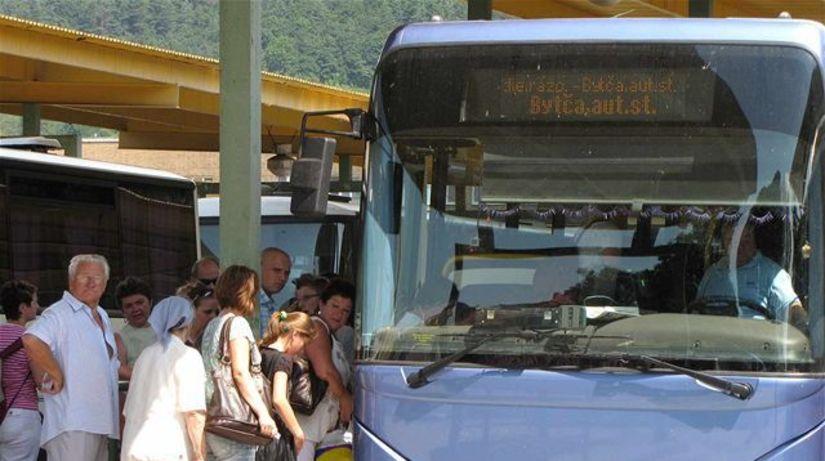 Žilina, autobus, stanica